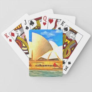 Jogo De Carta Teatro da ópera bonito de Sydney