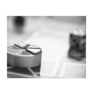 Jogo de mesa da fotografia das belas artes impressão em tela