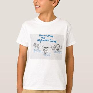 Jogo do alfabeto camiseta