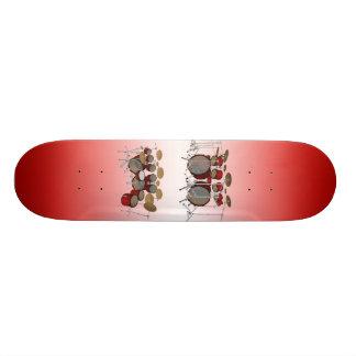Jogo do cilindro de 10 partes: modelo 3D: Skate fe