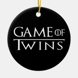 Jogo do ornamento dos gêmeos