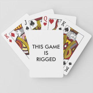 Jogo equipado jogo de baralho