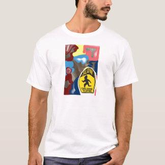 Jogo lento das crianças do guardanapo tshirt