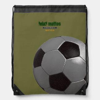 jogo personalizado futebol do esporte backpacks