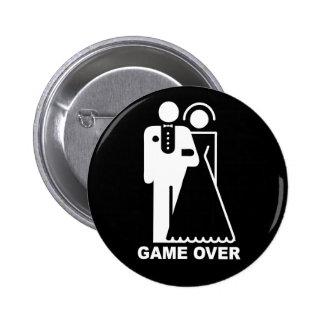 Jogo sobre o botão bóton redondo 5.08cm