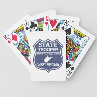 Jogos De Baralho A polícia estadual de West Virginia protege e