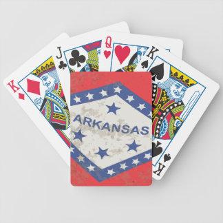 Jogos De Baralhos Grunge da bandeira do estado de Arkansas