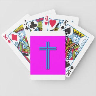 Jogos De Cartas Cruz colorida