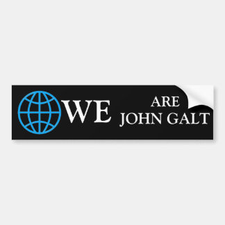 John Galt Adesivo Para Carro