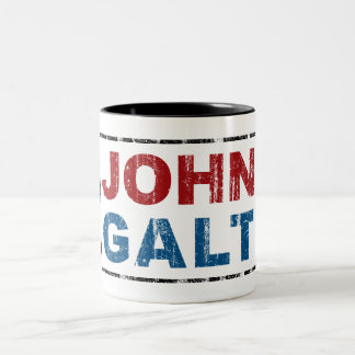 John Galt Caneca Dois Tons