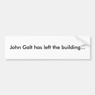 John Galt deixou o autocolante no vidro traseiro d Adesivo Para Carro