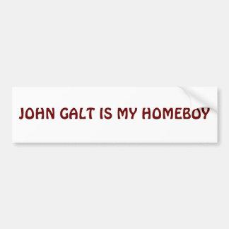 JOHN GALT É MEU FICAR EM CASA ADESIVO PARA CARRO