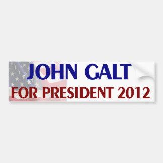 John Galt para o presidente Adesivos
