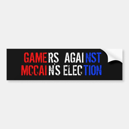 John McCain Adesivo