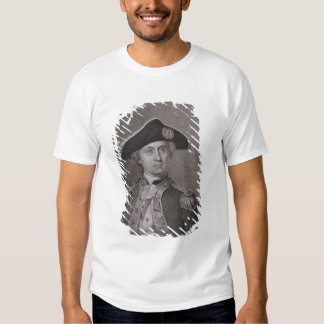 John Paul Jones (1747-92), gravado por James Barto T-shirt