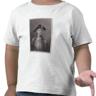 John Paul Jones (1747-92), gravado por James Barto Camisetas