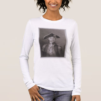 John Paul Jones (1747-92), gravado por James Barto Tshirts