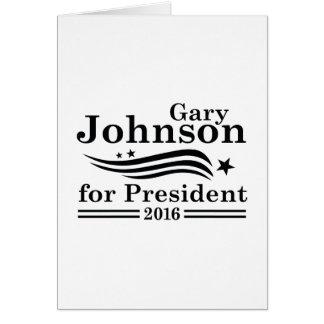 Johnson 2016 cartão