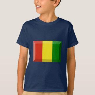 Jóia da bandeira da Guiné Camisetas