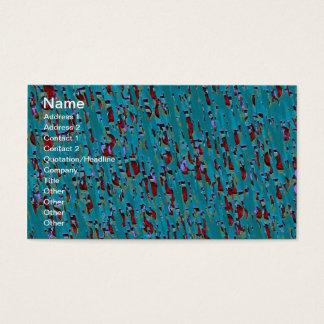 Jóias abstratas cartão de visitas