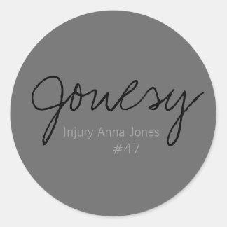 Jonesy, ferimento Anna Jones #47 Adesivo