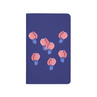 Jornal do bolso dos balões de ar diário
