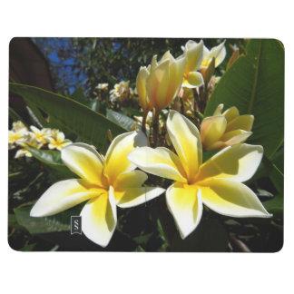 Jornal do bolso - flores do plumeria