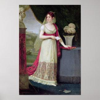 Josephine Tasher de la Pagerie Imperatriz Poster
