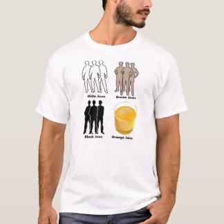 Judeus alaranjados camiseta