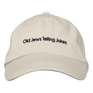 Judeus idosos que dizem piadas: O chapéu! Boné