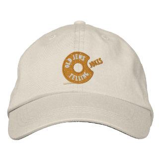 Judeus idosos que dizem piadas: O chapéu novo do Boné Bordado
