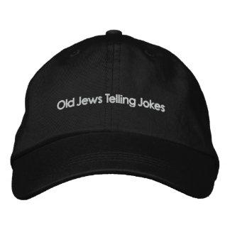 Judeus idosos que dizem piadas: O outro chapéu! Boné
