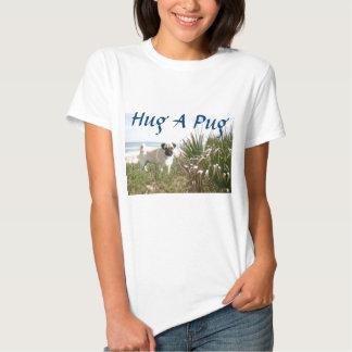 Junco do t-shirt do abraço do Pug