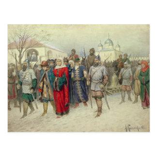 Junta de grande Novgorod Cartão Postal