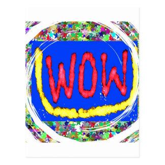 Junte-se ao partido do fator do wow Presente um Cartões Postais