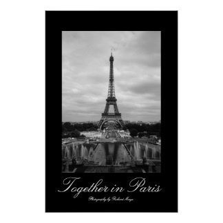 Junto em Paris Poster