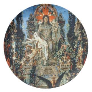 Jupiter e Semele, 1894-95 (óleo em canvas) Louça De Jantar