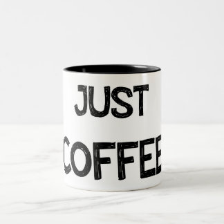 JUST COFFEE CANECA DE CAFÉ EM DOIS TONS