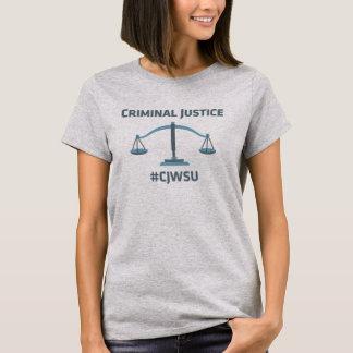 Justiça penal - o t-shirt das mulheres