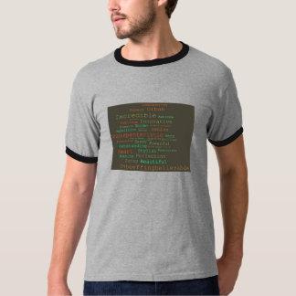 K.C. T-shirt de solo da nuvem para homens