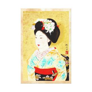 Kajiwara Hisako umas belas artes da gueixa de Kyot