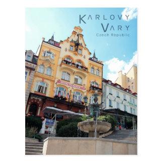 Karlovy varia, foto checa cartão postal