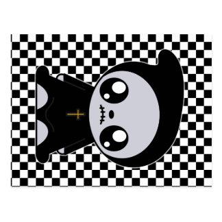 Kawaii Emo Cartão Postal