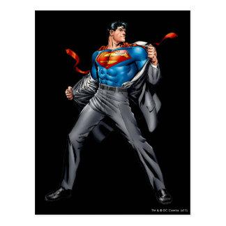 Kent muda no superman cartão postal