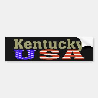 Kentucky EUA! Autocolante no vidro traseiro Adesivo Para Carro