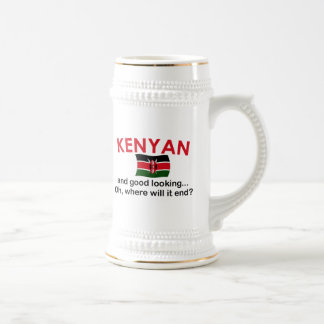 Kenyan bonito caneca de cerveja