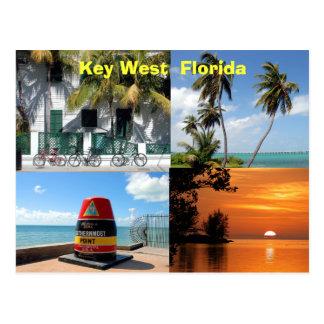Key West histórico florida EUA Cartão Postal