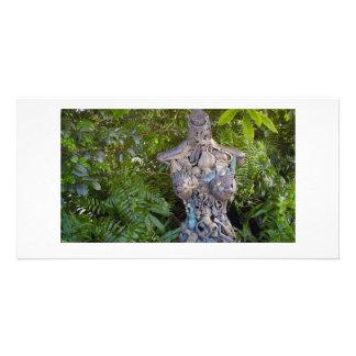 Key West jardina cartão com fotos da escultura Cartão Com Foto