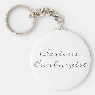 Keyring sério de Bunburyist Chaveiro