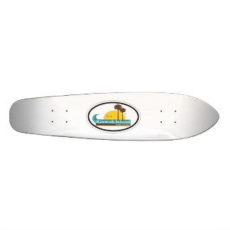 Kiawah Island. Shape De Skate 19,7cm